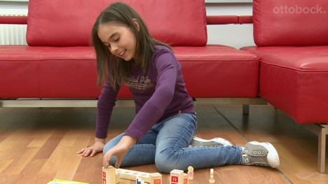 Myolino arm prosthesis system for children – Denise
